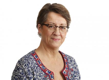 Härsknar till: Transportstyrelsens väg- och järnvägsdirektör Birgitta Hermansson. Foto: Andreas Johansson.
