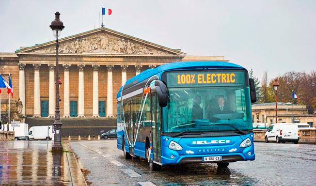 Den franska busstillverkaren Heuliez har presenterat en ny, eldirven stadsbuss. Foto: Heuliez.