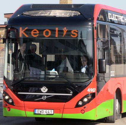 Keolis rekyrterar bussmekaniker bland nyanlända. Foto: Ulo Maasing.