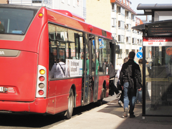 Allt fler tar bussen i Luleå. Foto: Ulo Maasing.