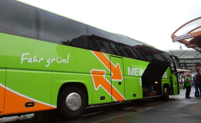 Srejken bland Ludfthansas kabinpersonal har gett expressbussföretag som Mein Fernbus ett lyft. Foto: Ulo Maasing.