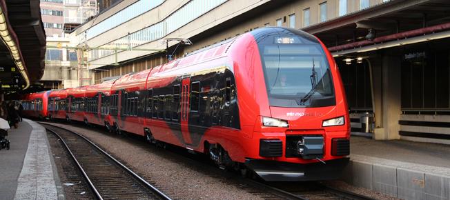 Swebus och MTR Express inleder samarbete. Foto: MTR Express.
