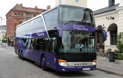 Transportsryrelsen anklagar Nettbuss för mer än 5000 allvarliga överträdelser av kör- och vilotidsreglerna på två månader. Nettbuss bestrider anklagelserna. Foto: Ulo Maasing.