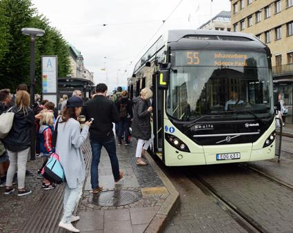 40 000 personer får åka gratis med Västtrafik i höst. Foto: Ulo Maasing.