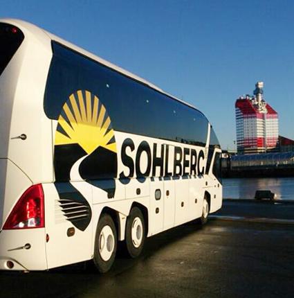 Sohlberg Buss har råkat i ekonomiska svårigheter med stora förluster. Foto: Sohlberg Buss.