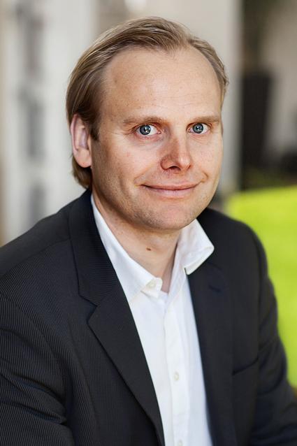 Johan Nyblom, försäljnings- och marknadsdirektör på Swebus. Foto: Swebus.