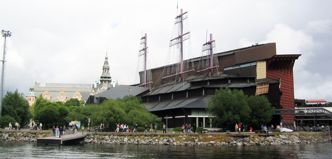 Området runt Vasamuseet i Stockholm förvandlas till resmässa i maj nästa år. Foto: Wikimedia Commons/Gabbe.