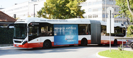 En hybridledbuss på linje 109. Foto: Ulo Maasing.