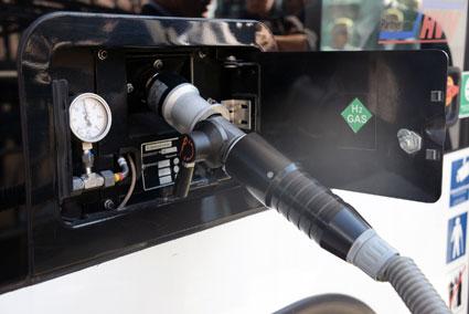 Tankning av vätgas. Foto: Ulo Maasing.