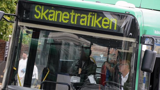 59 Malmöbussar har kört omkring med orenade avgaser sedan avgasreningen manipulerats. Foto: Ulo Maasing.