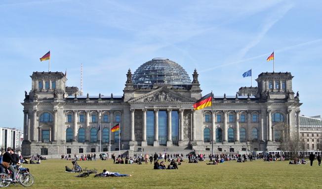 Riksdagshuset i Berlin. Foto: Ulo Maasing.
