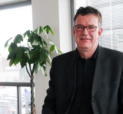 Steen Bundgaard, Danske Busvognmænd: Polisen, inte bussförarna, ska sköta pass- och visumkontroller. Foto: Ulo MAasing.