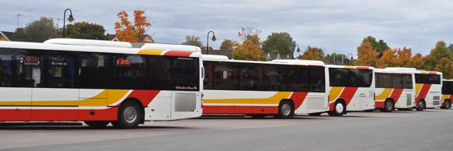 Jönköpings länstrafik gör ett nytt försök att få införa kameraövervakning på bussar och tåg. Foto: Ulo Maasing.