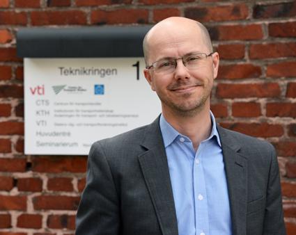 KTH-professorn Jonas Eliasson blir ny trafikdirektör i Stockholm. Foto: Ulo Maasing.