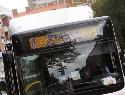Biogasen till stadsbussarna i Jönköping är den dyr affär för kommenen. Det kommunala biogasbolaget går med brakförlust. Foto: Ulo MAasing.