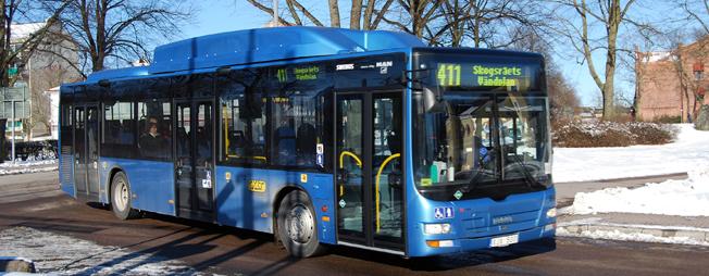 Kalmar kommun gör det billigare att åka med länstrafiken –men bara för kommunens invånare och innanför kommungränsen. Foto: Wikimedia Commons/marcusroos.