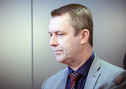 Per Holmström, förste vice ordförande, Kommunal: Att ålägga bussförare att göra id-kontroller är ett kraftigt bakslag i vårt arbetsmiljköarbete. Foto: Ulo Maasing.