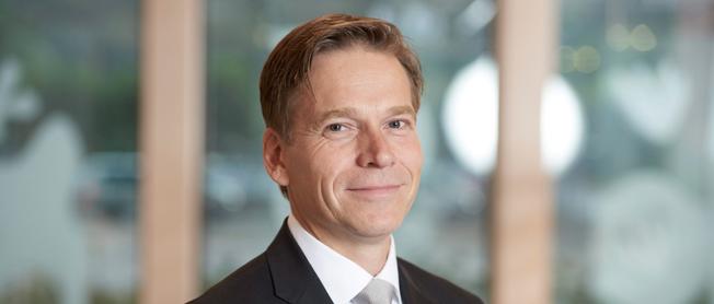 Christian Levin, ny försäljningsdirektör vid Scania. Foto: Scania.