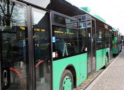 Det skulle kosta 10 – 40 miljoner att göra hela linjenätet för stadsbussarna i Lund elektriskt, visar forskare vid LTH. Foto: Ulo Maasing.