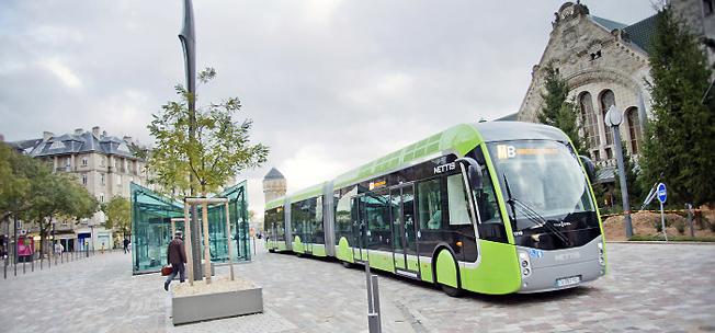 Den franska staden Metz med sitt BRT-system visar på hur Göteborg kan utveckla kollektivtrafiken, anser Västsvenska Handelskammaren,