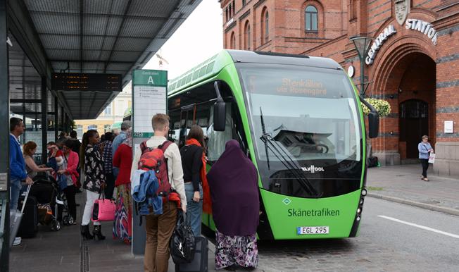 Resandet med MalmöExpressen fortsätter att öka starkt. Foto: Ulo MAasing.