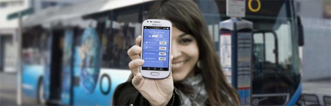 """Är dagens system för stadsbusstrafik på väg att bli utkonkurrerat av en """"uber"""" för busstrafik? Bild: Orbita Line."""
