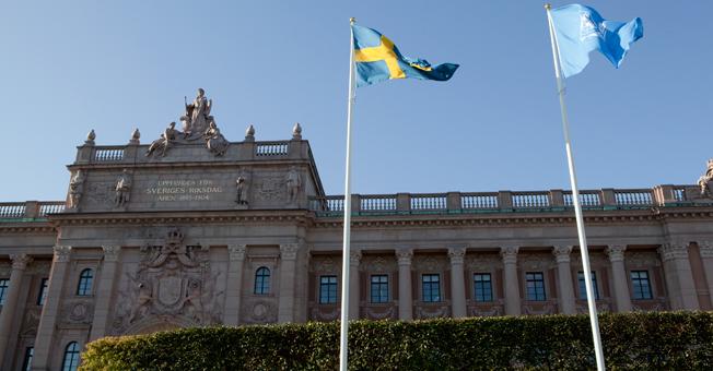 Riksdagens justitieutskott sa på tisdagen ja till regeringens förslag om id-kontoll på bussar, tåg och fartyg. Foto: Camilla Svensk.