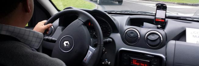 Ubers taxitjänster har blivit kontroversiella i många städer världen runt. Bilden är från Bogota, Colombia. Foto: Ballofstring/Wikimedia Commons.