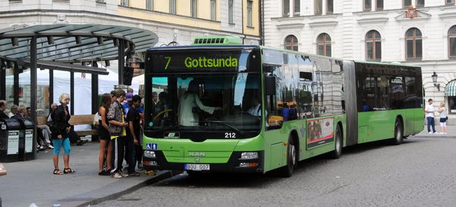 Busstrafiken i Uppsala ska snabbas upp. Foto: Ulo Maasing.