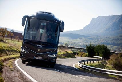 Nyregistreringarna av bussar i Spanien ökade i fjol med 38 procent. Foto: Irizar.