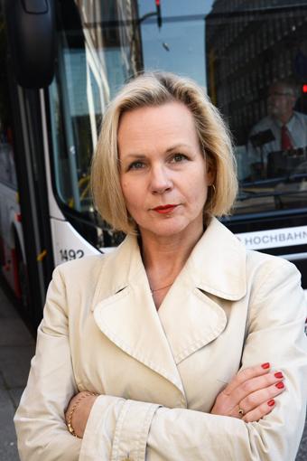Anna Grönlund, branschchef och vice vd, Sveriges Bussföretag. Foto: Ulo MAasing.