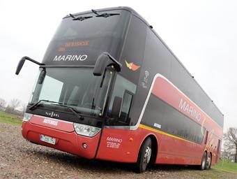 Italienska Marino har beställt 60 Van Hool Astromega.