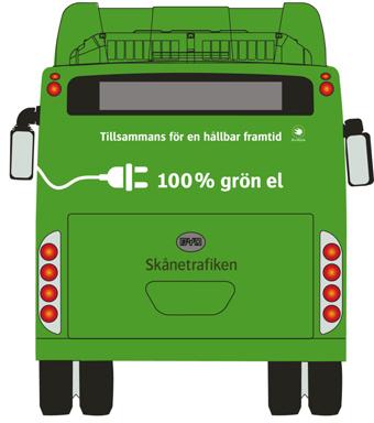 I helgen blir elbussarna dominerande i stadstrafiken i Helsingborg. Bild: Skånetrafiken.