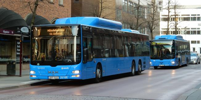 Borås Lokaltrafik förlorade den senaste rättsliga turen om upphandlingen av busstrafiken i staden. Slutet närmar sig för det kommunala bussföretaget. Foto: Ulo Maasing.