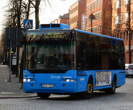 Borås Lokaltrafik kämpar vidare för sin överlevnad. Foto: Ulo Maasing.
