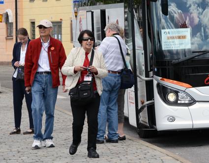 Omsättningen ökade i fjol för de svenska bussresearrangörerna. Foto: Ulo Maasing.