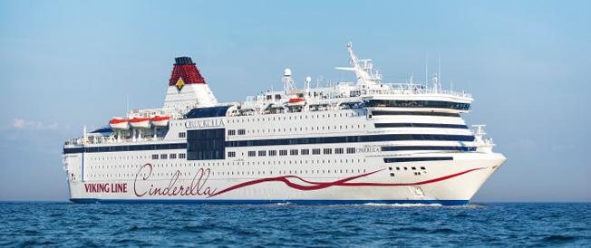 Nöjeskryssningarna med Viking Lines Cinderella ökade kraftigt under 2015. Foto: Viking Line.