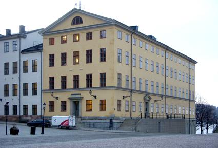 Högsta Förvaltningsdomstolen på Riddarholmen i Stockholm. Foto: Holger Elgaard/Wikimedia Commons.
