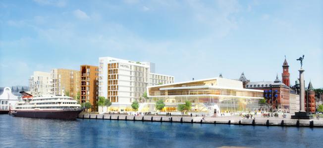 Helsingborgs nya hotell- och kongressanläggning ska stå klar 2020.