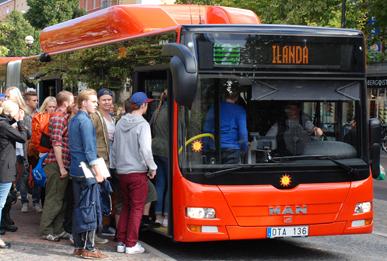 Keolis tar över tidigare än planerat i Karlstad. Foto: Karlstadsbuss.