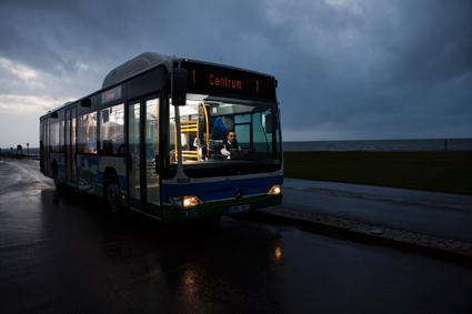 Bussoperatören Nobina siktar på en helt fossilfri verksamhet. Foto: Nobina.