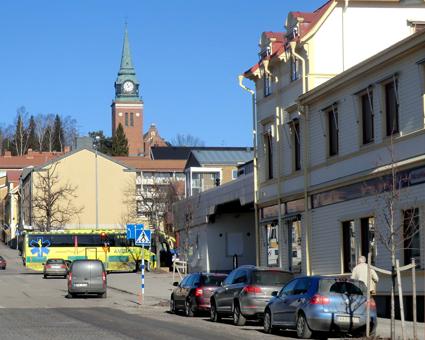 Örnsköldsviks centrum. Foto: Wikimedia Commons/Deryni.