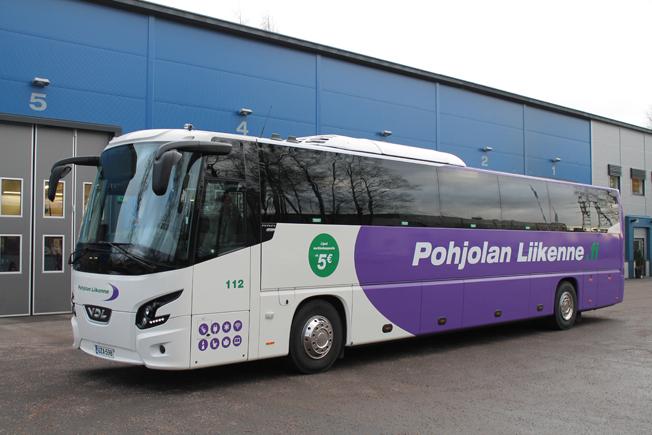 De två första bussarna av modellen levererades i slutet av december till det finska bussföretaget Pohjolan Liikene. Foto: VDL.