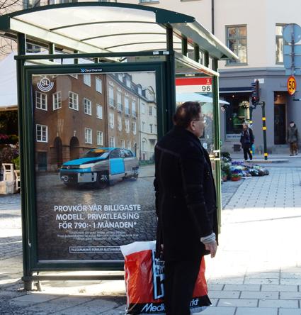 Clear Channel har tagit hem ett miljardavtal på trafikreklam i Storstockholm. Foto: Ulo Maasing.