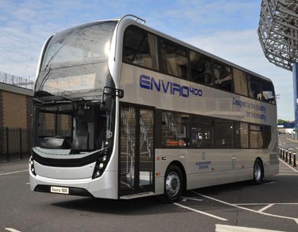 Bussen ska karosseras av ADL, Alexander Dennis. Foto: Scania.