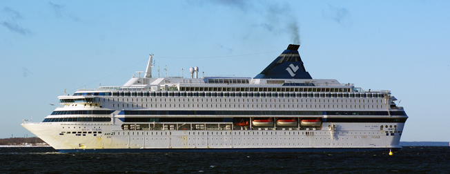 Silja Europa kommer tillbaka till linjen Tallinn – Helsingfors. Foto: Tallart/Wikimedia Commons.