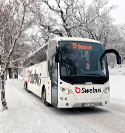 Swebus fortsätter att utöka samarbetet med andra bussföretag. Foto: Swebus.