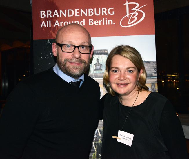Från Rese-Konsulterna fanns Anders Nord och Suzanne Frendberg på plats. Foto: Ulo Maasing.