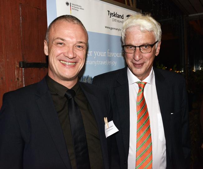 Bo Schou Lauridsen, sedan i somras nordosteuropachef för Tyska turistbyrån tillsammans med resejournalisten och flygexperten Jan Ohlsson. Foto: Ulo Maasing.