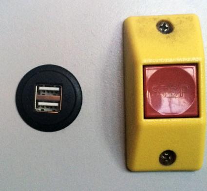 Allt fler av Nobinas bussar i Västra Götaland utrustas med USB-kontakter ombord.